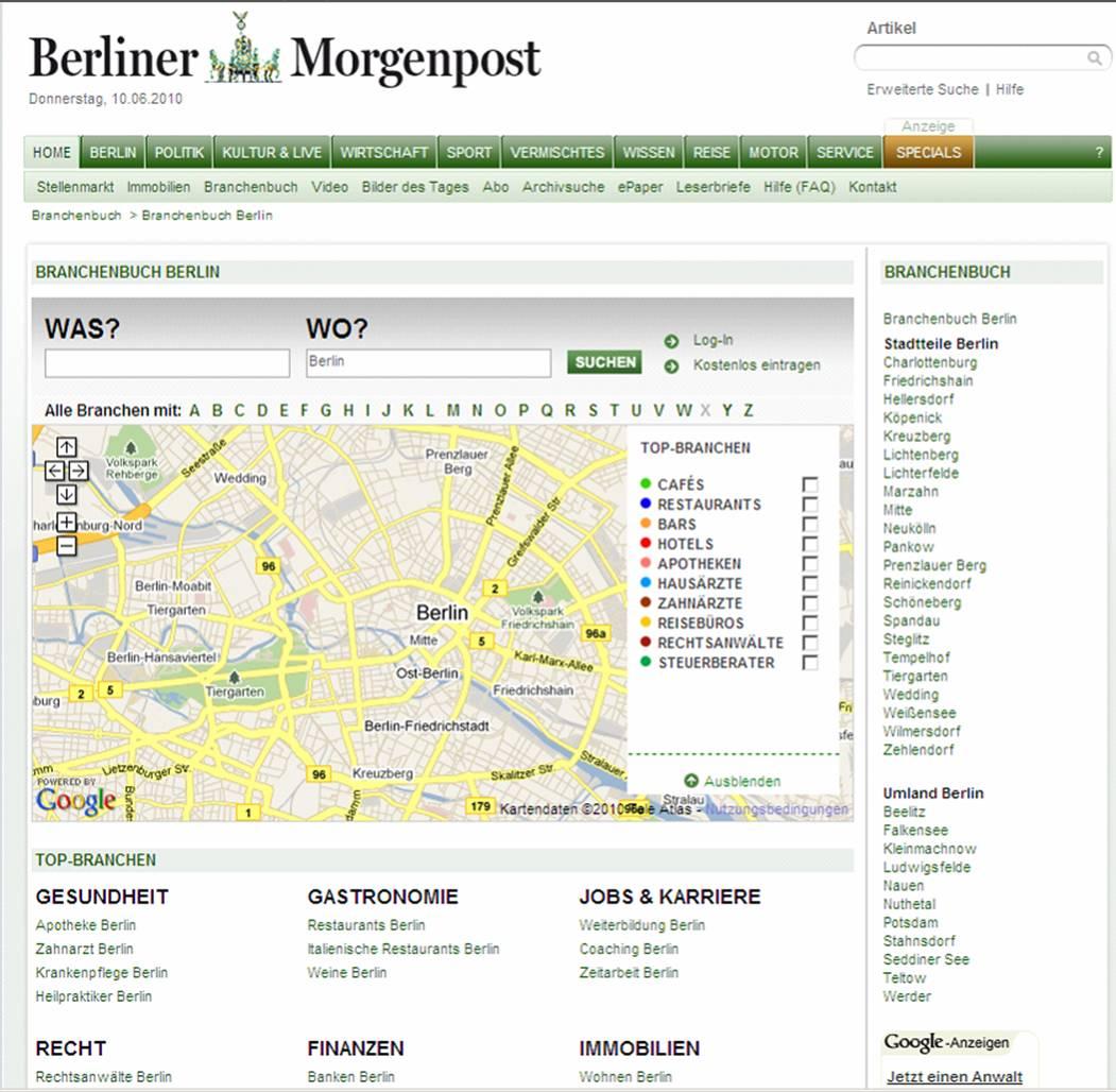 meistgelesenster zeitung deutschlands
